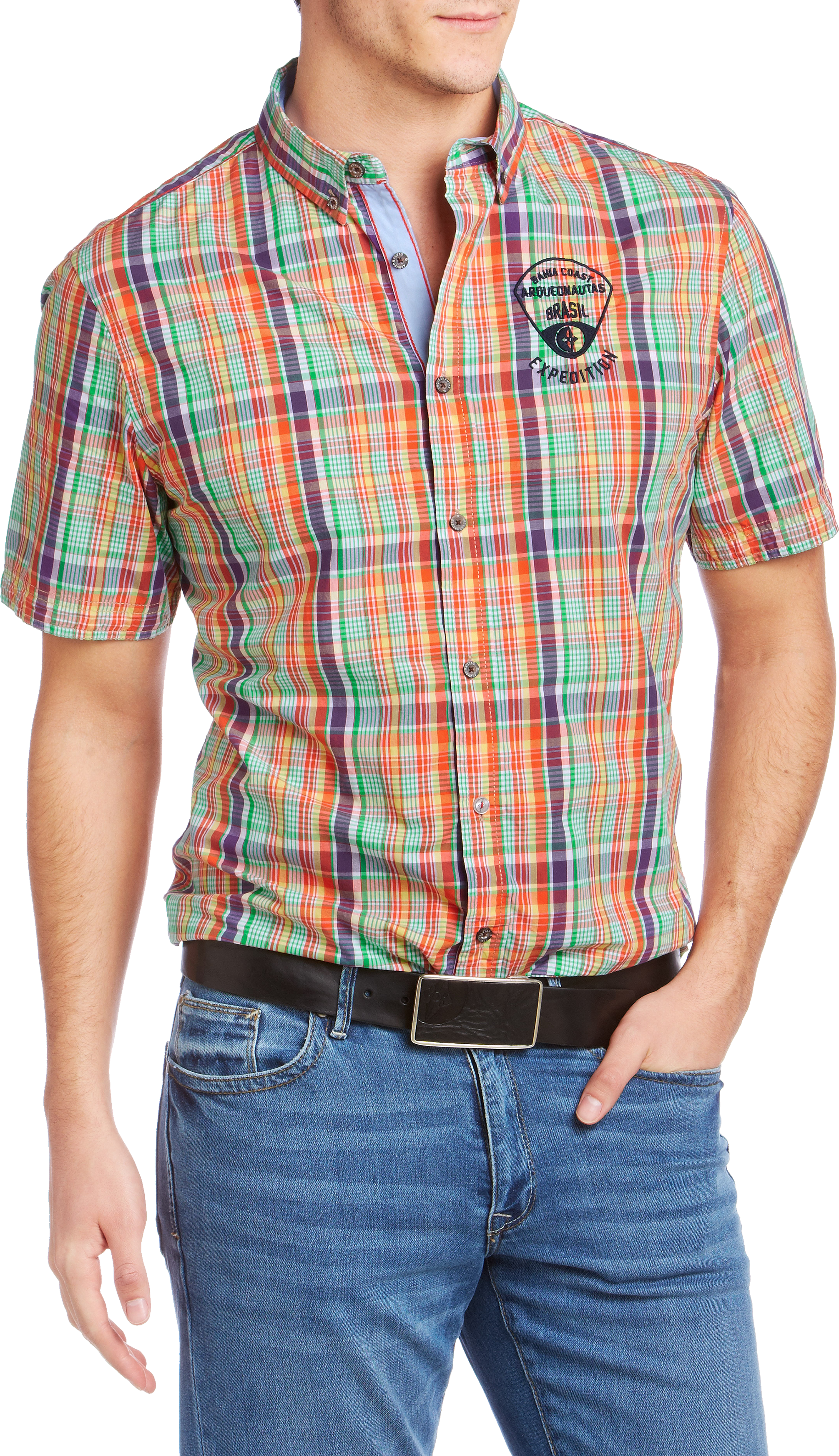 Men polo shirt PNG image