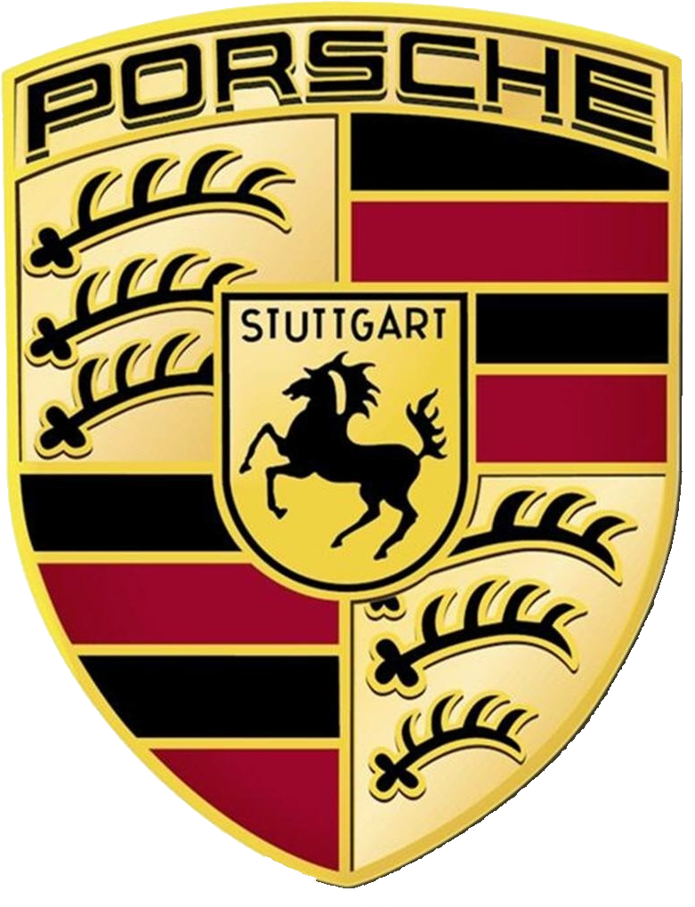 Porsche logo PNG image
