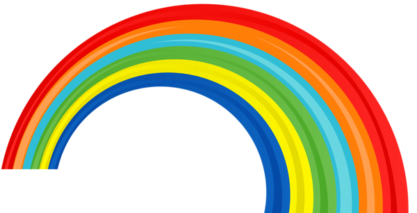 Rainbow PNG image