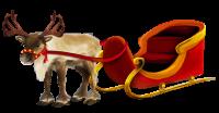 Santa Claus's reindeer PNG
