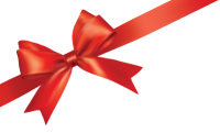 red gift ribbon PNG image