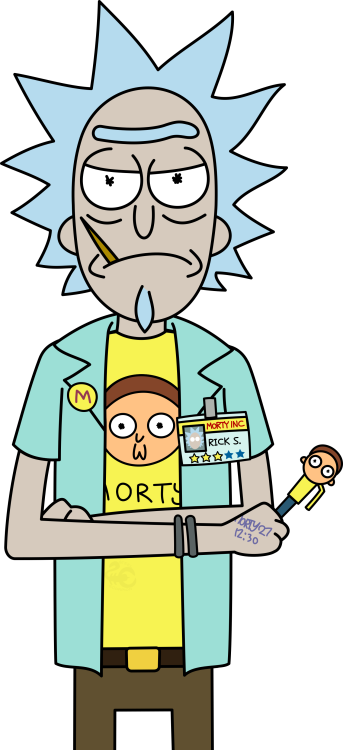 Rick and Morty PNG