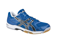 Blue Asics running shoes PNG image