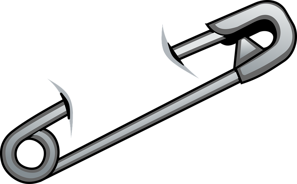 Safety pin PNG