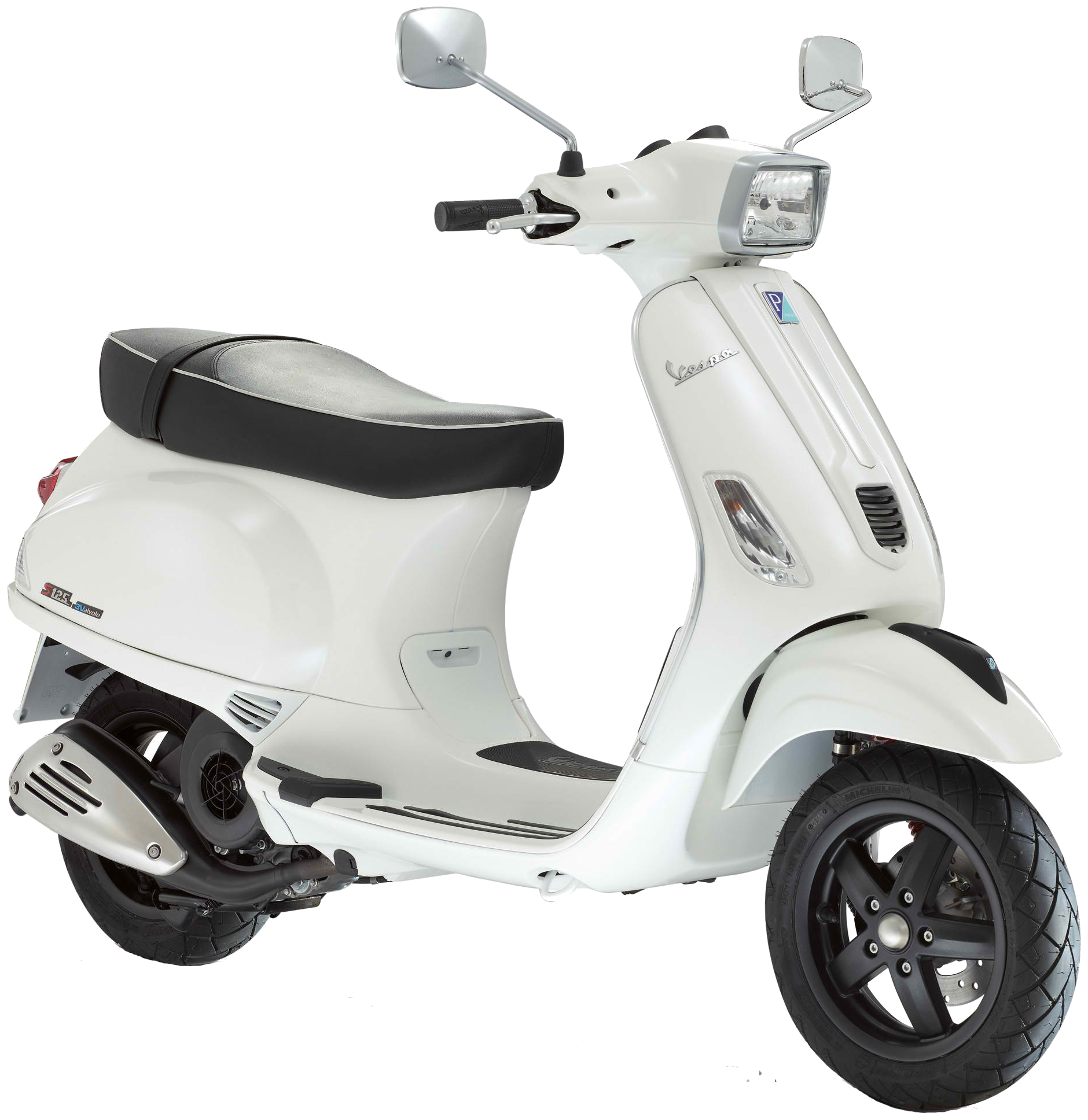 White scooter PNG image