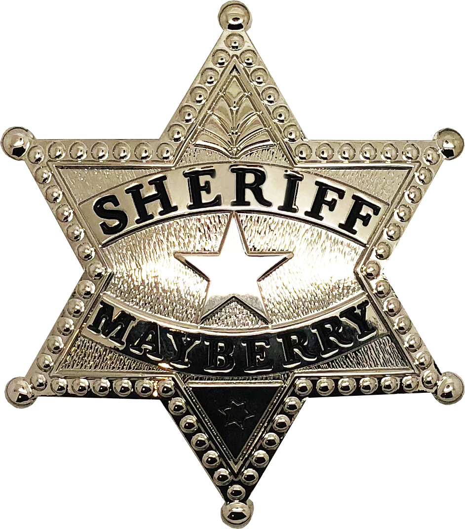 Sheriff badge PNG