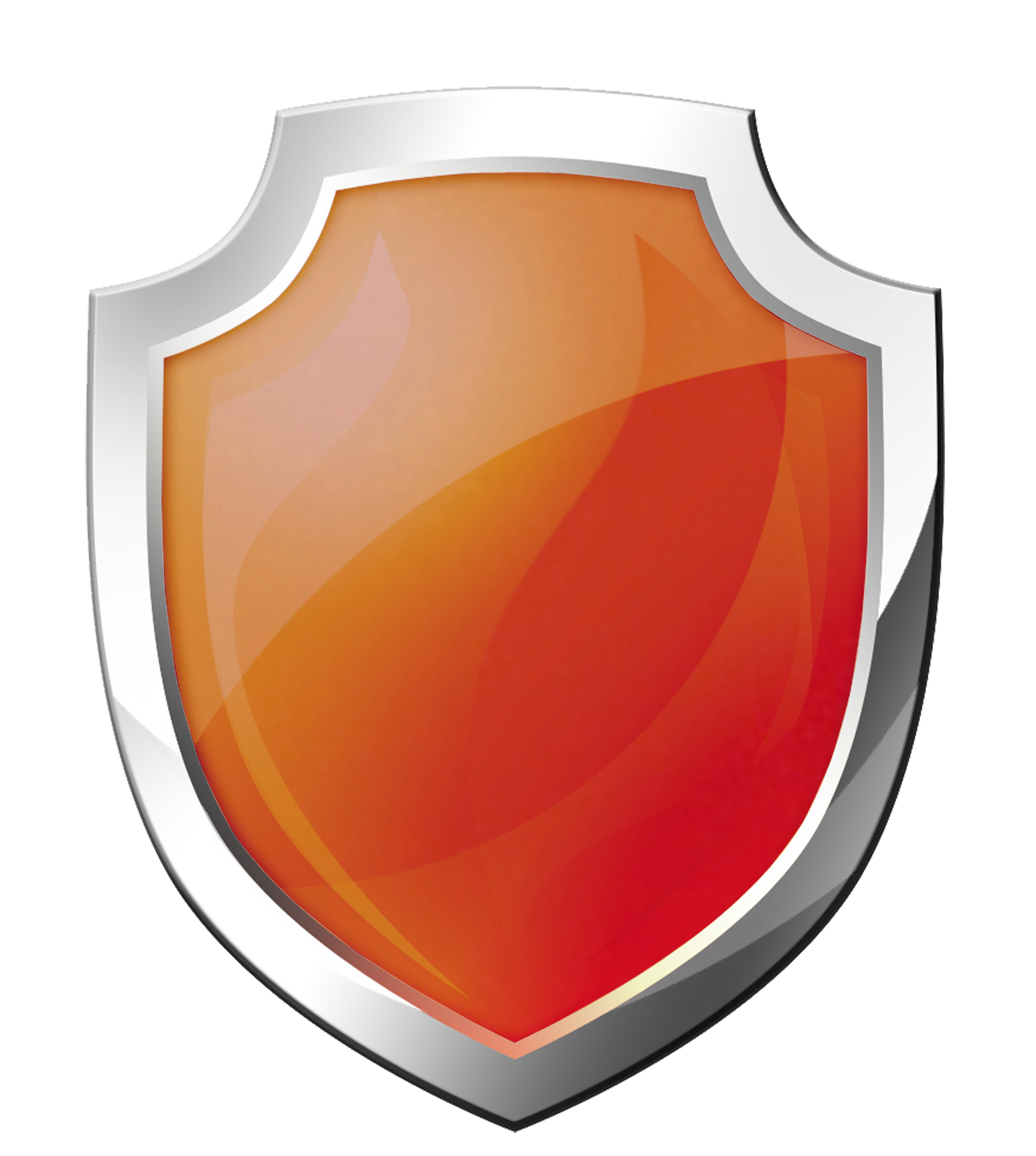 orange Shield PNG images Download