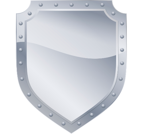 gray metal Shield PNG images Download