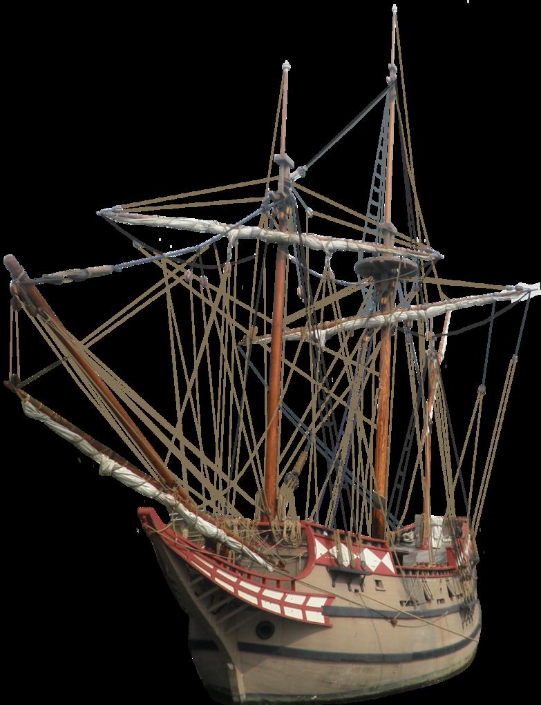 Sailing ship PNG image
