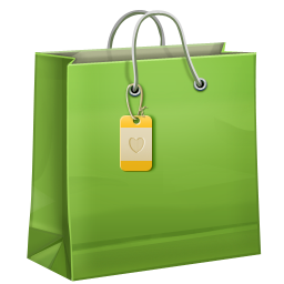 Shopping bag PNG image