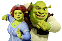 Shrek and Fiona PNG