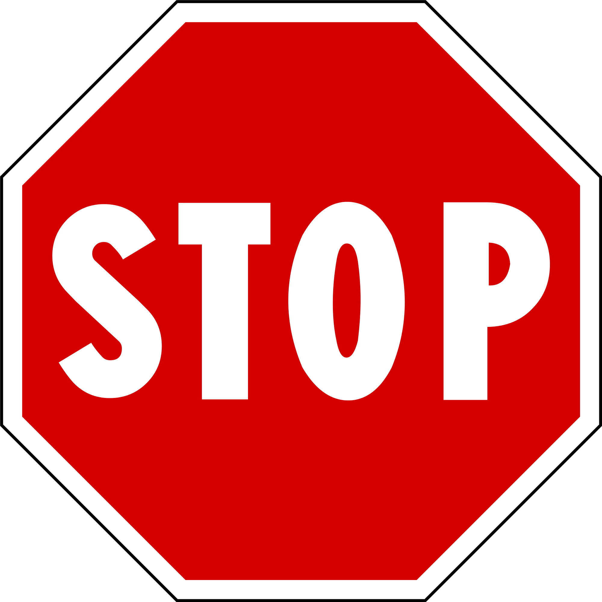 Sign stop PNG images free download