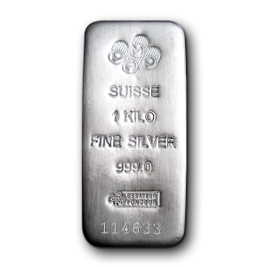 Silver bullion PNG