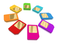 Sim cards PNG image