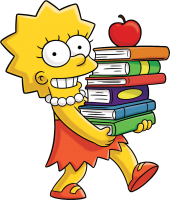 Lisa Simpson PNG