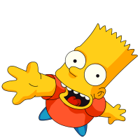 Bart Simpson PNG