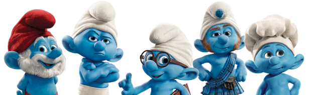 The Smurfs PNG