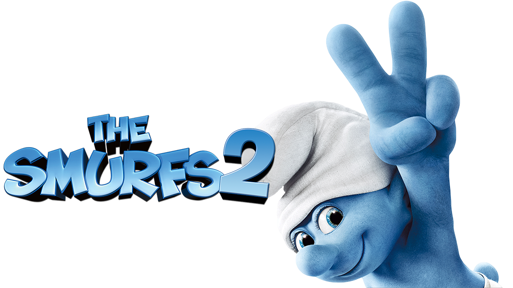 The Smurfs logo PNG