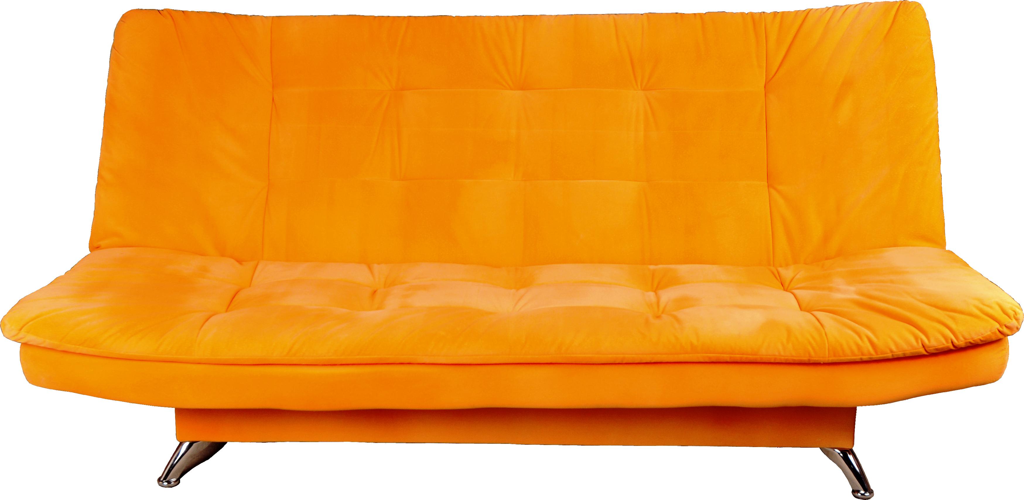 Local made sofa set tissus finish relaxon group - Orange Sofa Png Image