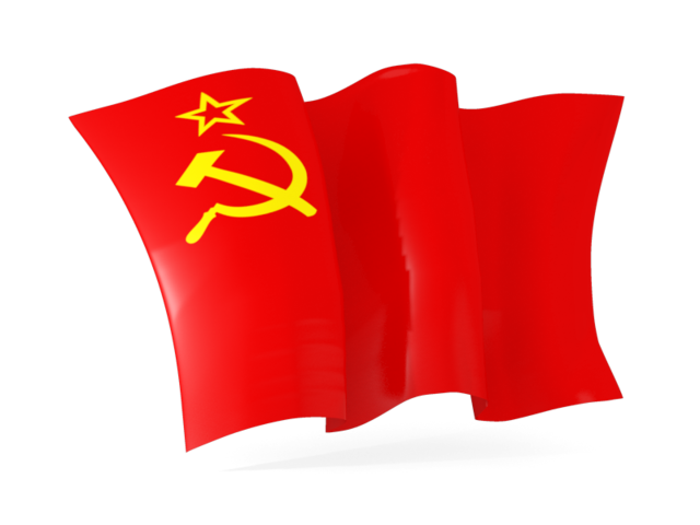 Soviet Union flag PNG