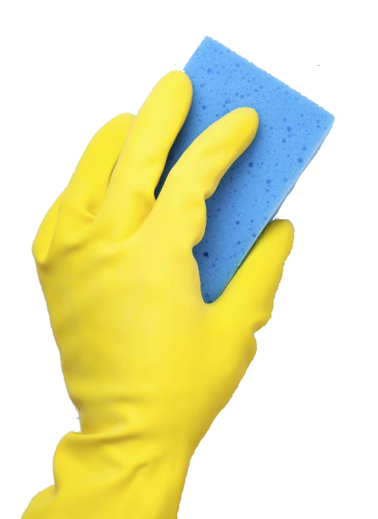 Washing Sponge In Hand Png