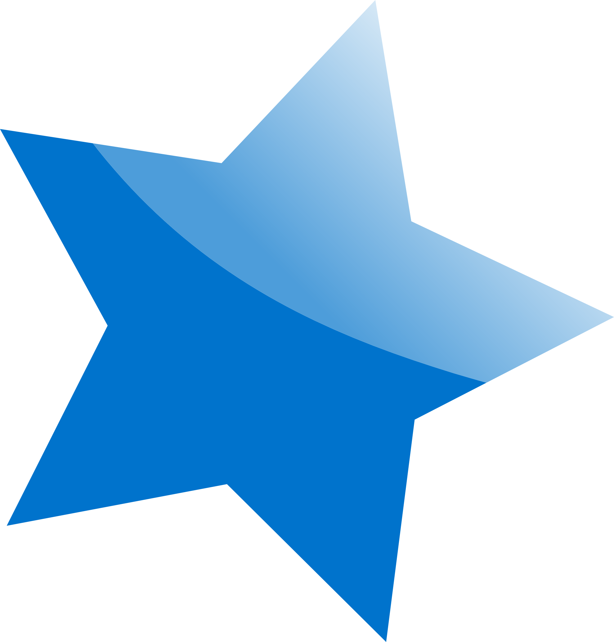 blue star PNG image