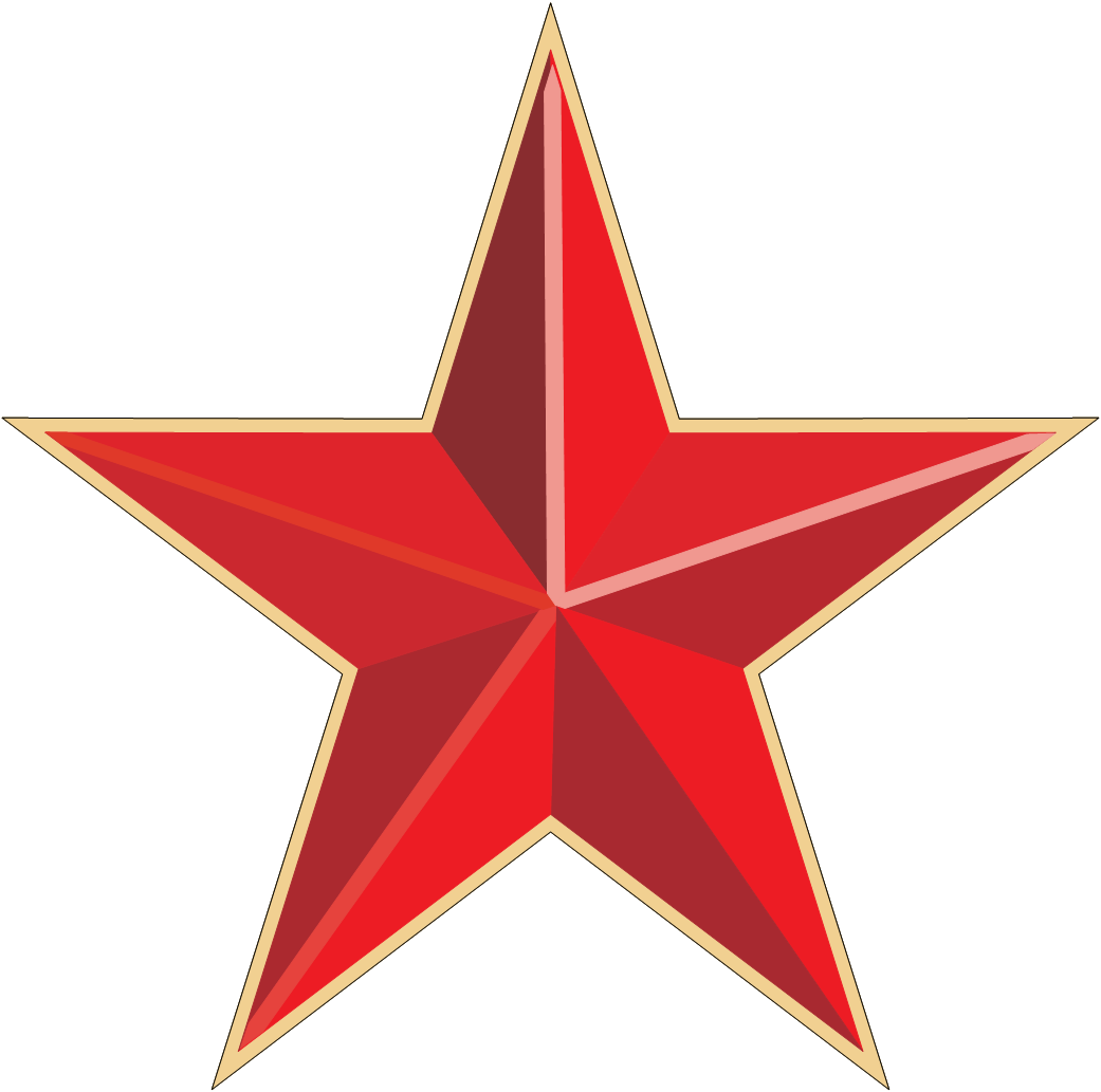 red star PNG image