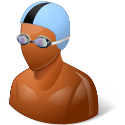 Swimmer icon PNG