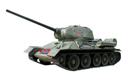 t34 tank PNG image, armored tank