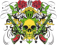 Colorful tattoo PNG