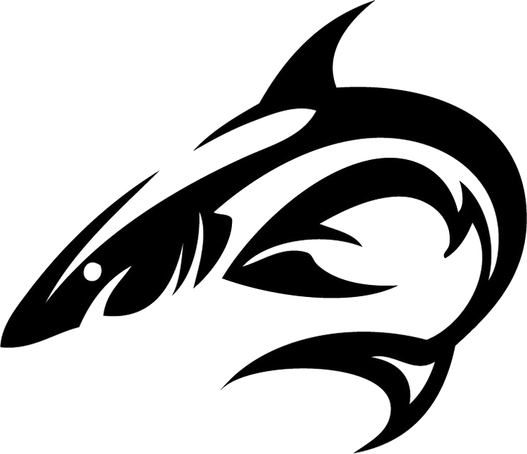 Tattoo shark PNG image