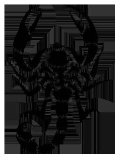 Tattoo scorpion PNG image