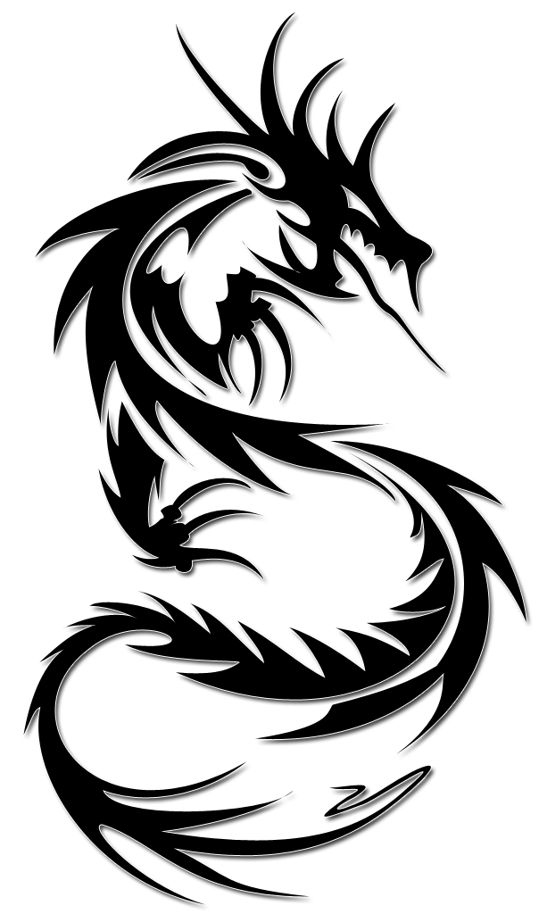 Tattoo dragon PNG image