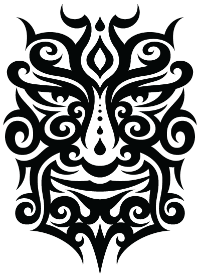 Tattoo face PNG image