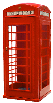 Telephone booth PNG