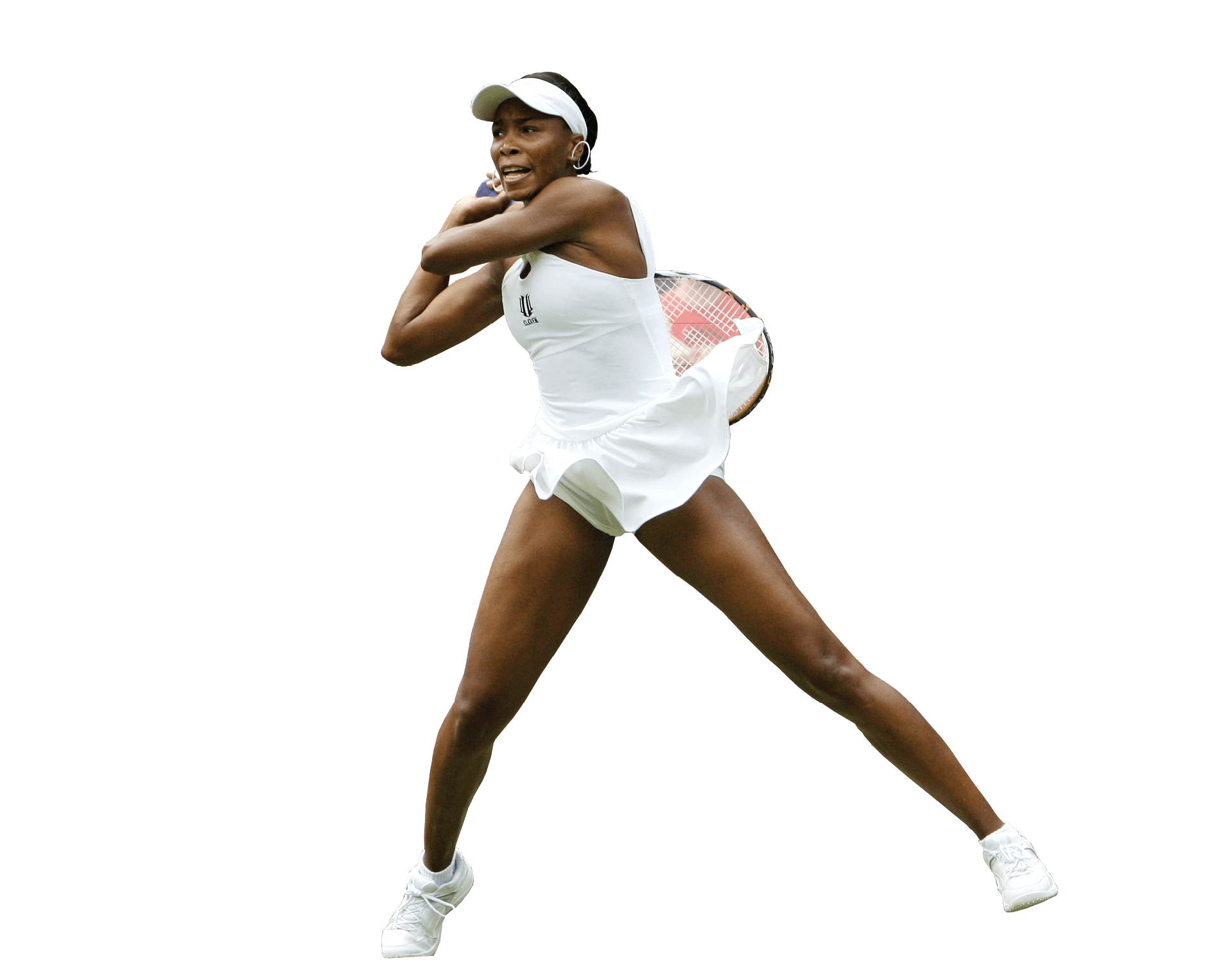 Tennis player woman PNG image