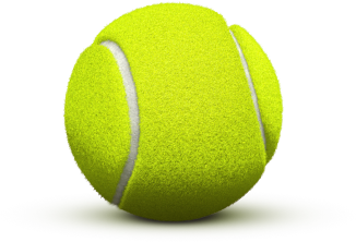 Tennis ball PNG image