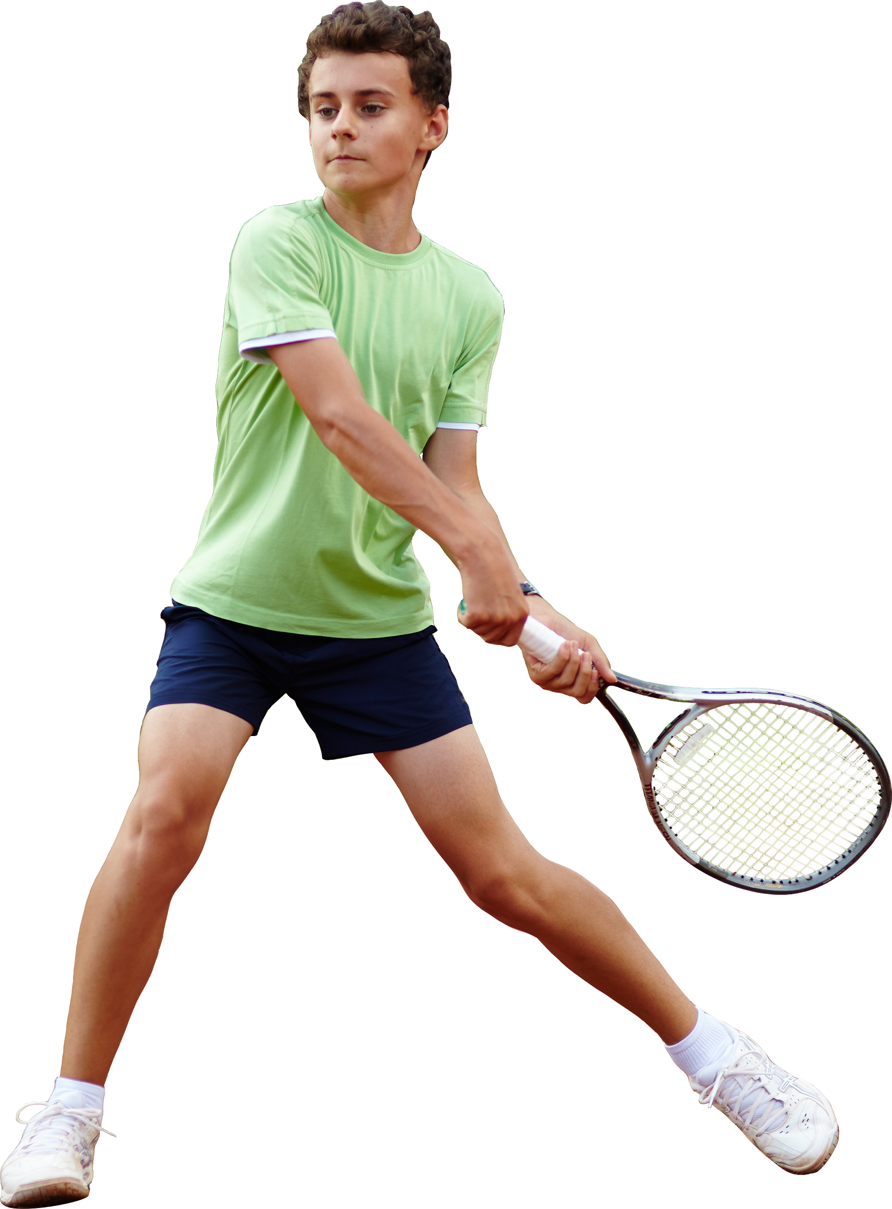 Tennis player boy PNG image