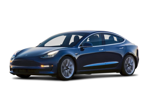 Tesla car PNG