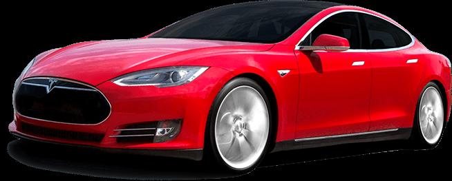 Tesla car PNG