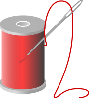 Thread and needle PNG