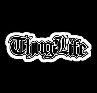 Thug life PNG