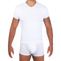 Man in whiteT-shirt PNG image