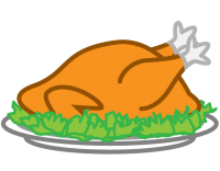 Christmas Turkey PNG