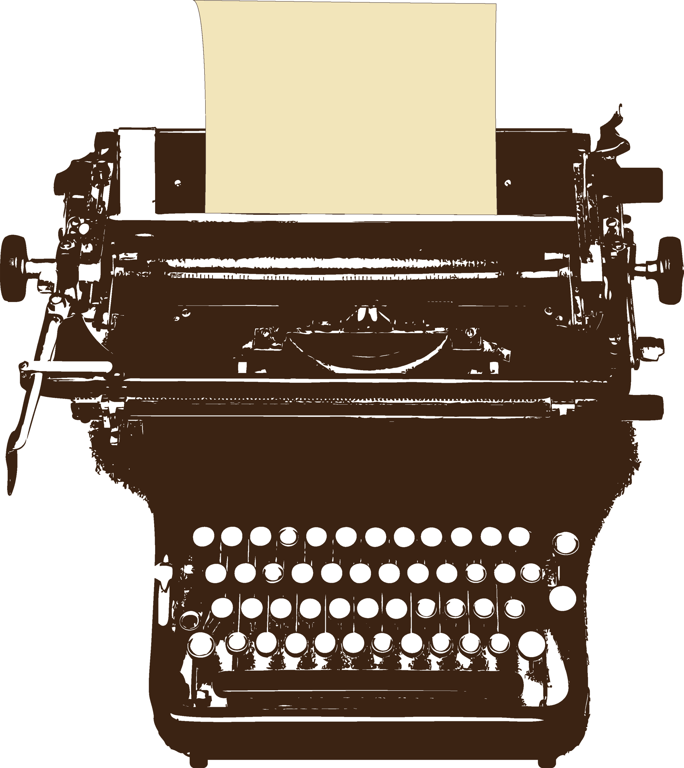 Typewriter PNG image free Download