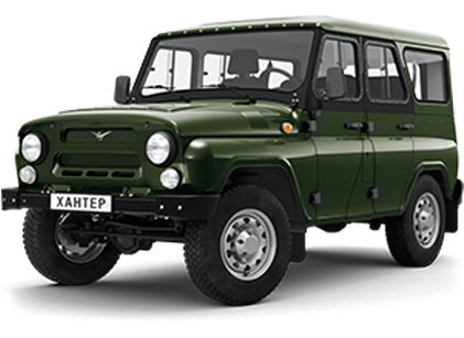 UAZ Hunter PNG