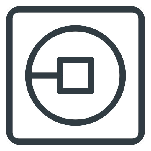 Uber logo png