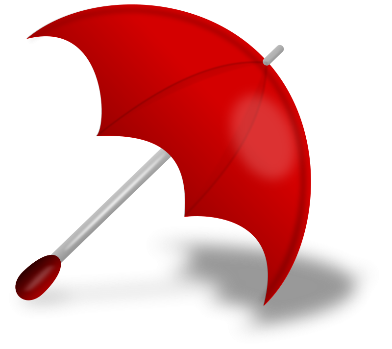 red umbrella PNG image