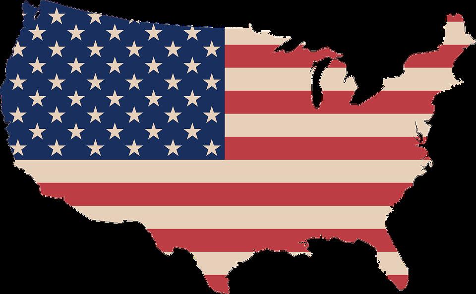 USA map PNG image free Download