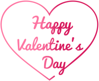 Happy Valentines Day transparent PNG